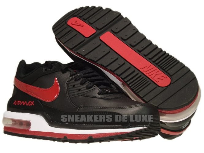sports shoes 58e95 ffa89 316391-061 Nike Air Max LTD II BlackGym Red-White- ...