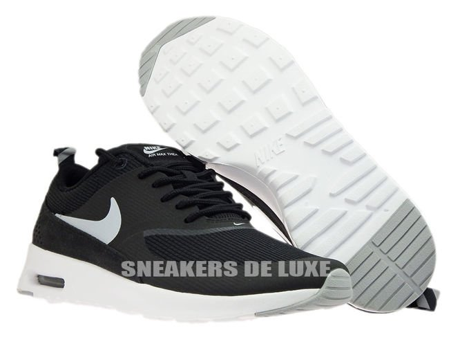 ... 599409-007 Nike Air Max Thea Black/Wolf Grey-Anthracite-White ...