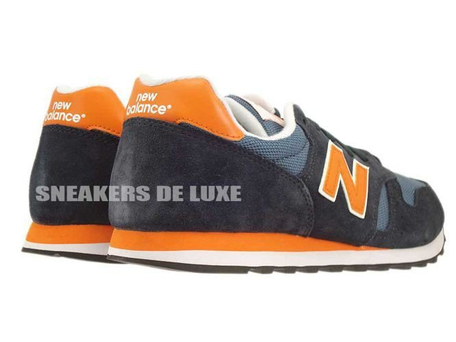 new balance 373 navy orange