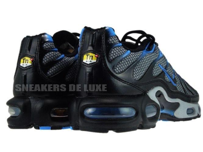 ... Nike Air Max Plus TN 1 Wolf Grey/Black-Blue Glow ...
