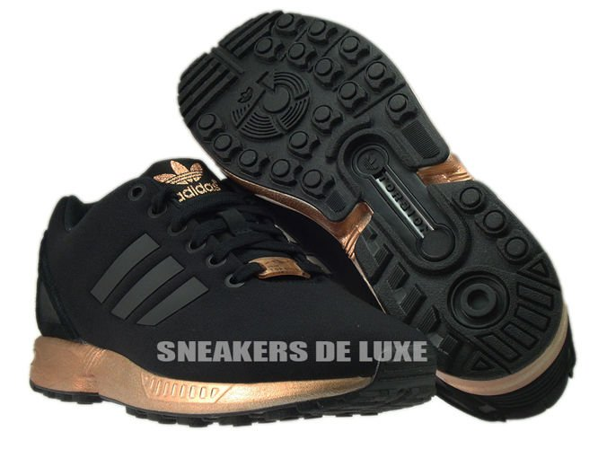 adidas zx flux schwarz rose gold
