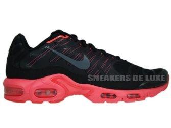 426882-001 Nike Air Max Plus TN 1.5 Black/Dark Grey-Solar Red