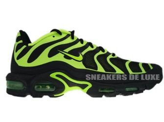 483553-070 Nike Air Max Plus TN 1.5 Hyperfuse Black/Volt-Black