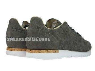 BD1903 Reebok Classic Leather LST Urban Grey/Stone/White