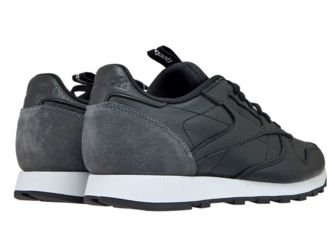 BS6210 Reebok Classic Leather Iconing Taping Black/Coal/White