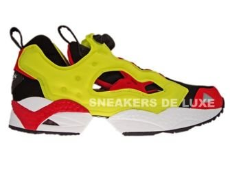 Reebok Insta Pump Fury Respect Pack Black/Yellow/Red 1-J20276