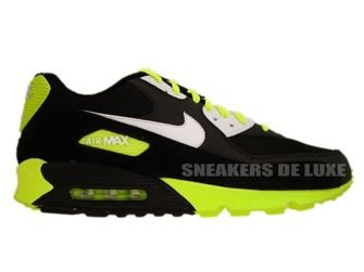 325018-099 Nike Air Max 90 Black/White-Volt