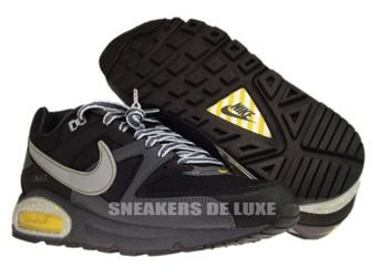 397689-008 Nike Air Max Command Black/Metallic Silver-Dark Grey