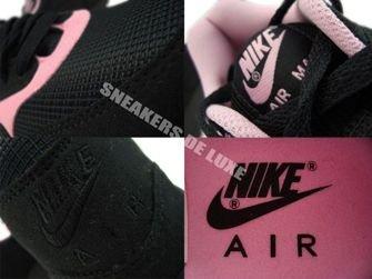 Nike Air Max 1 Black/Black-Perfect Pink